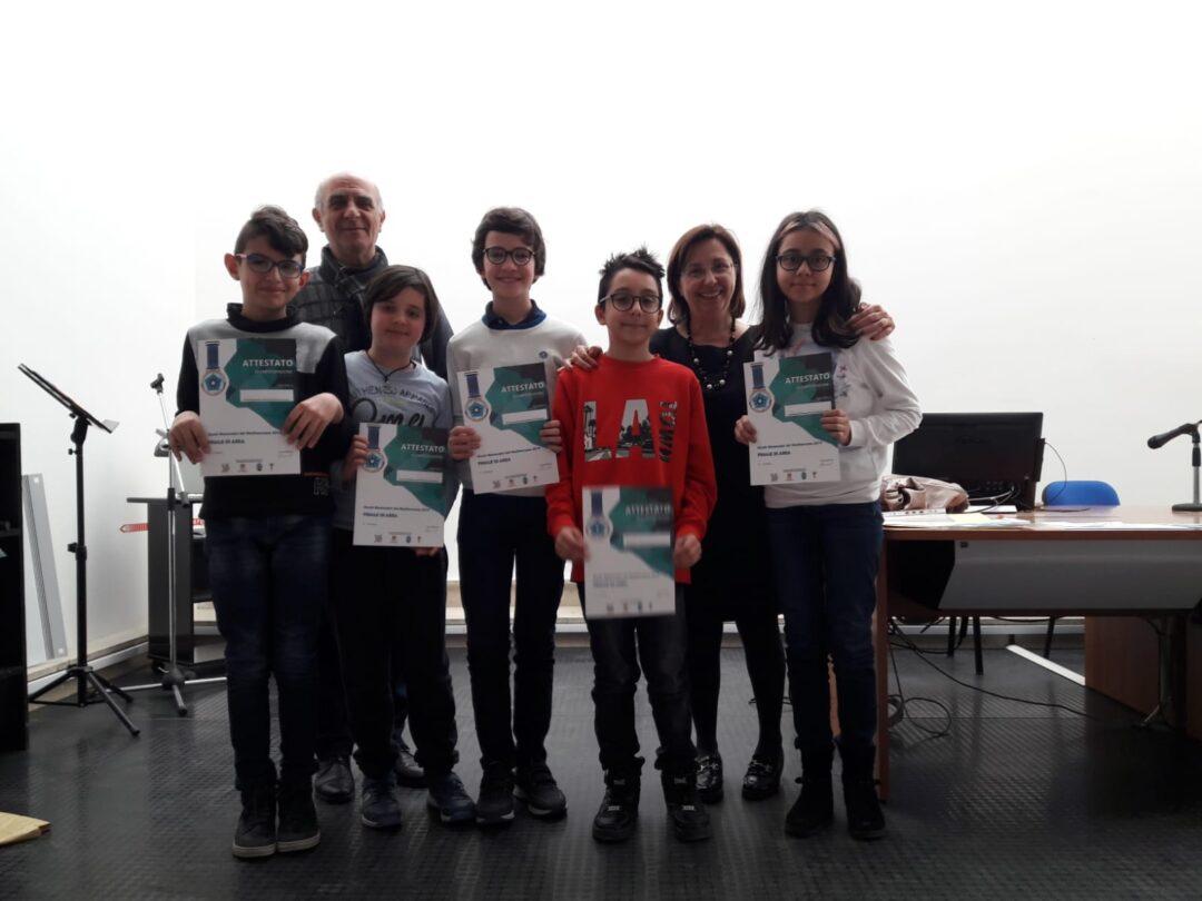 Giochi matematici del Mediterraneo 2019